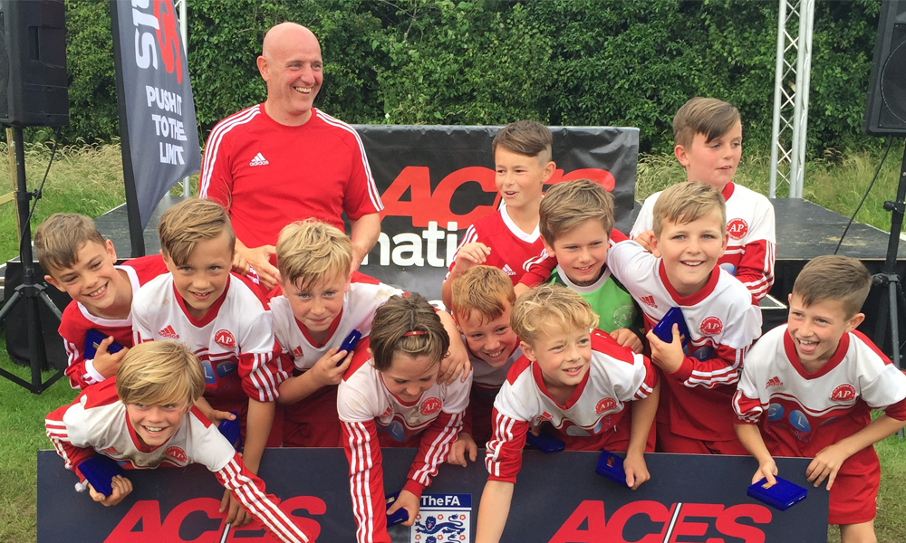 2016 Winners Boys Under 11 Aylestone Park Youth representing Leicester