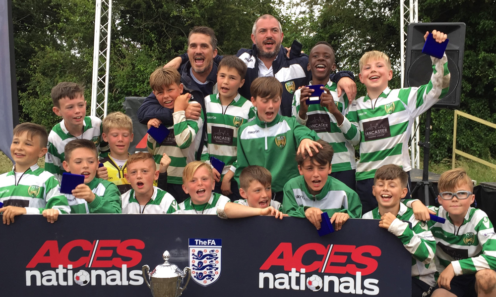 2016 Winners Boys Under 12 VCD Athletic representing Kent