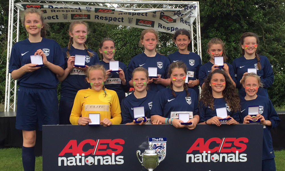 2016 Winners Girls Under 13 AFC Washington representing Washington