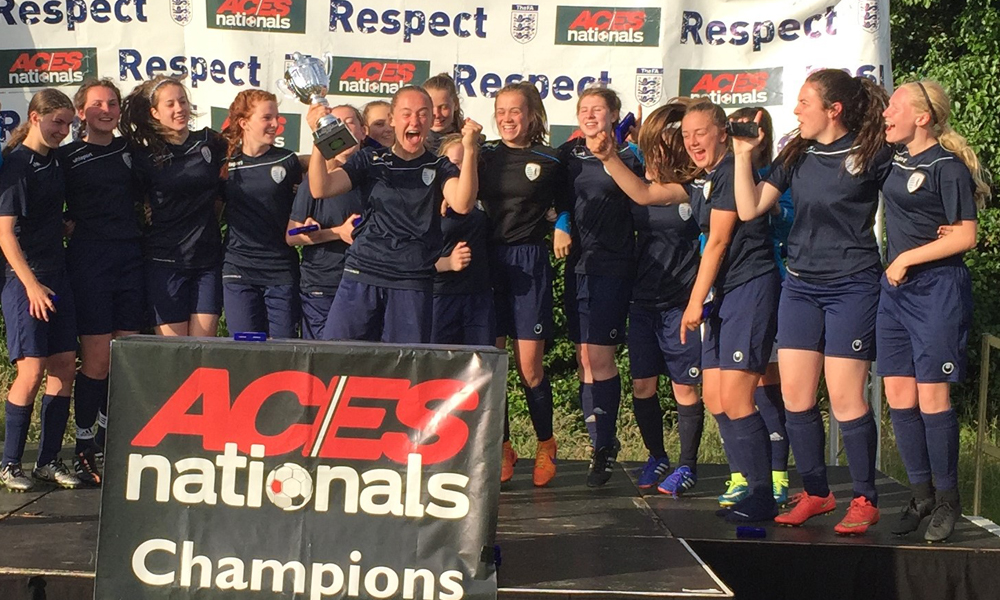 2016 Winners Girls Under 17 Central Girls Academy representing Falkirk Under 17