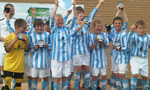 Boys U11 2011 Winners Shifnal Harriers representing Telford