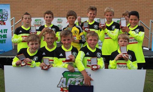 Boys U11 2013 Winners Groby Juniors representing Leicester