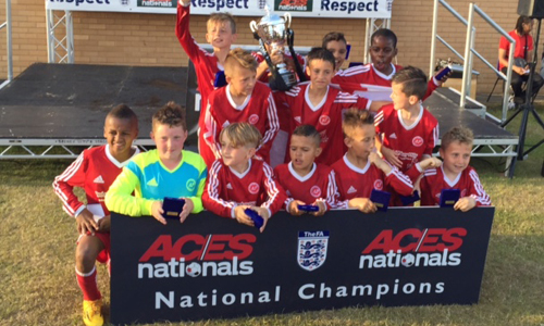 Boys U11 2015 Winners Aylestone Park Youth representing Leicester