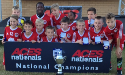 Boys U12 2015 Winners Bournville Warriors representing Birmingham