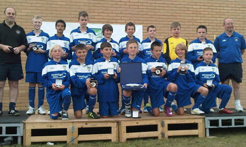Boys U13 2011 Winners Dunstable Tn representing Dunstable