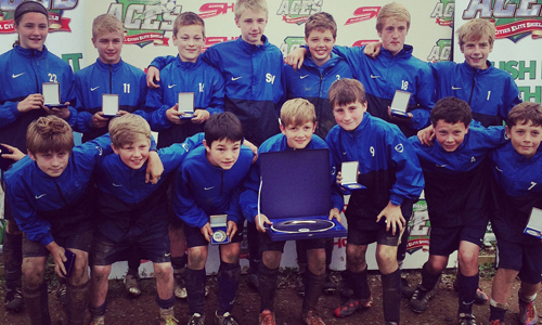 Boys U13 2012 Winners Blidworth Wlfare representing Nottingham