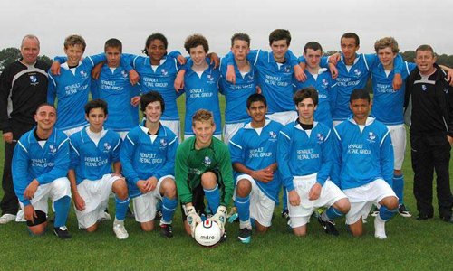 Boys U15 2010 Winners Wingate&Finchley representing North London