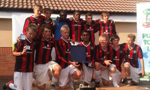 Boys U15 2011 Winners Whetstone Jnrs representing Leicester