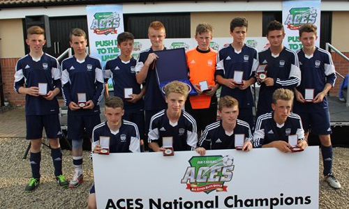 Boys U15 2013 Winners Washington Utd representing Sunderland