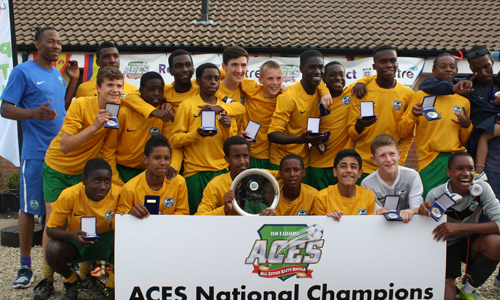 Boys U15 2014 Winners AFC Wembley representing NW London