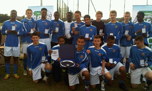 Boys U16 2012 Winners Harrow & Wealdstone representing Harrow
