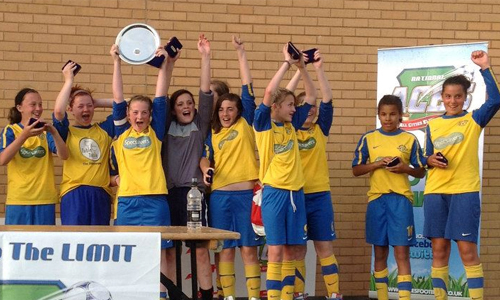 Girls U14 2012 Winners Stretton Swifts representing Burton