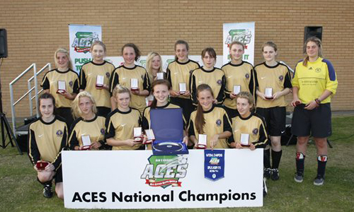 Girls U17 2013 Winners Birkdale Utd Girls representing Southport