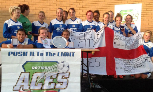 Leicester City Girls U16 2012 Winners Ladies representing Leicester