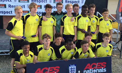 U16 Boys 2015 Winners Cove Youth Utd representing Farnborough