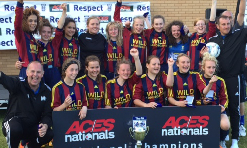 U17 Girls 2015 Winners Mill Lane Girls representing Hull TRIPLE CHAMPIONS