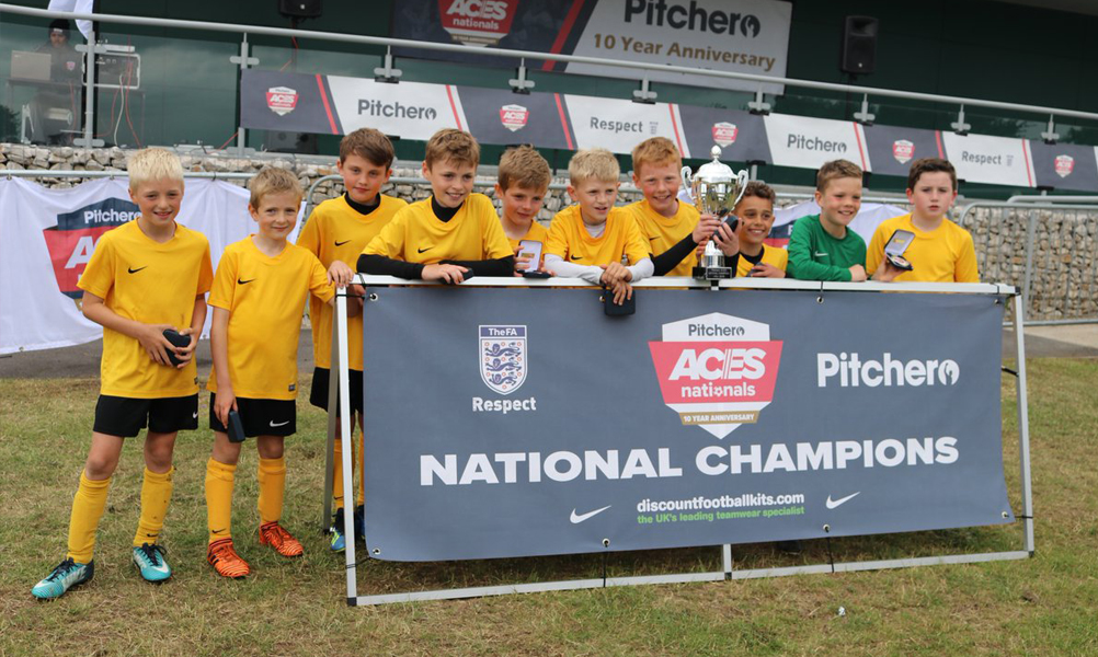2018 Boys U10 Winners Coventry