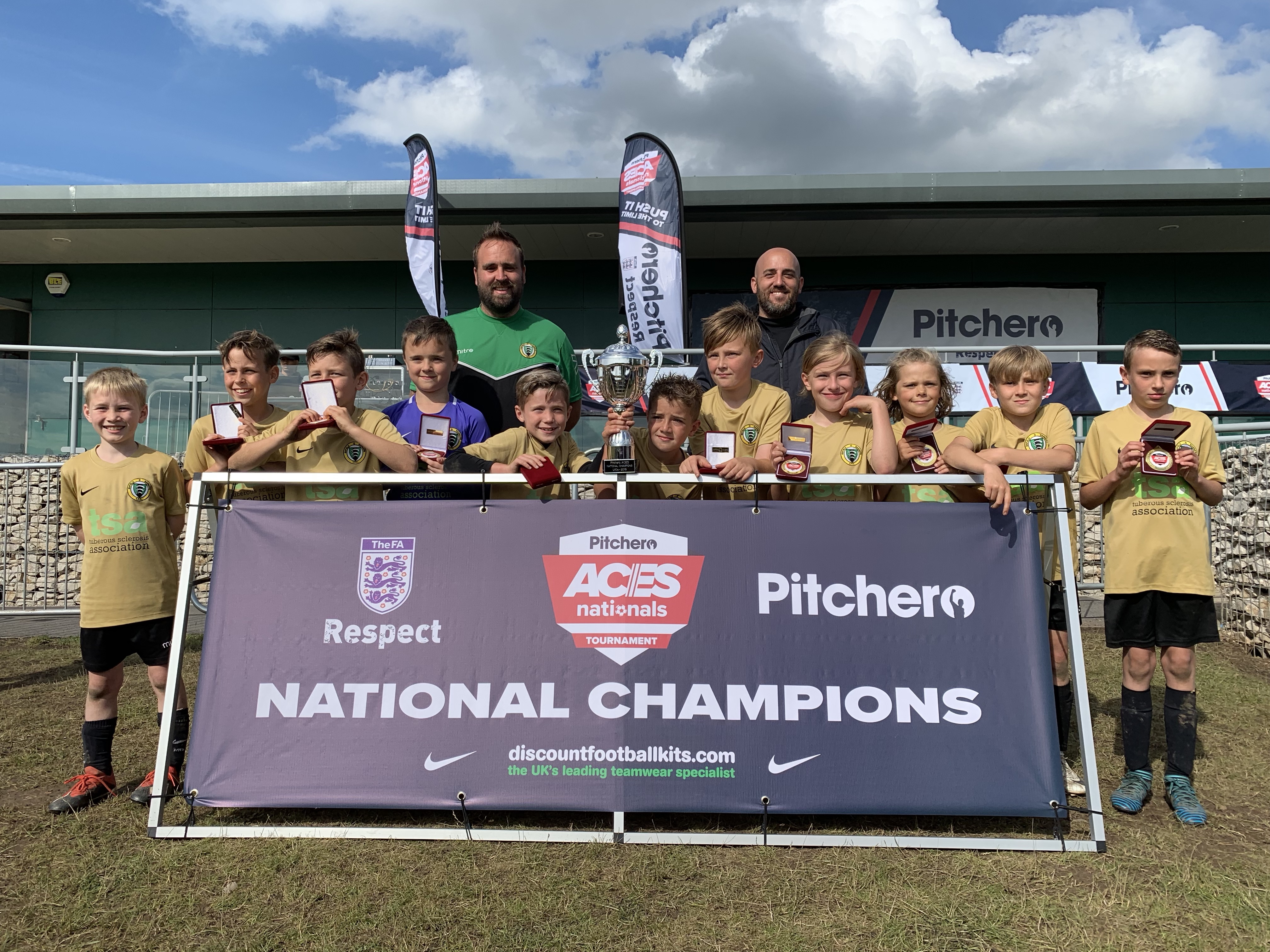 2019's U10 champions, Enfield Rangers, representing Enfield